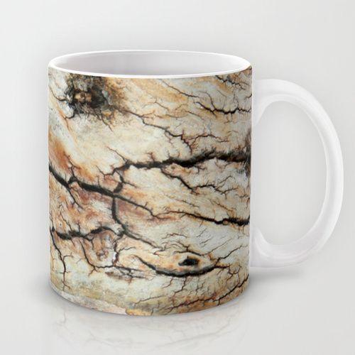 Cracked tree bark  Mug