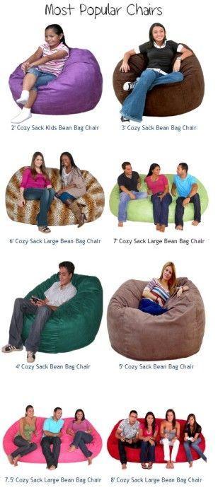 Bean Bag Chairs On