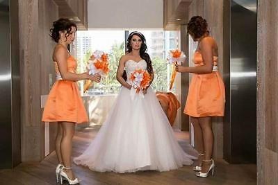 Luxury Beaded Wedding Dress 2016 Sweetheart Vestidos De Noiva Bridal Gown 6 8 10