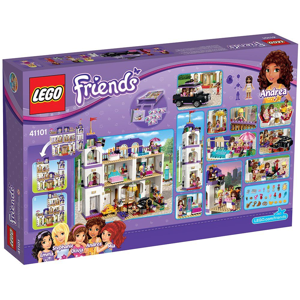 Lego Friends Heartlake Grand Hotel 41101 Popular Kids Toy For More Information Visit Image Link This Is An Affiliate Lego Friends Lego Friends Sets Lego