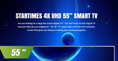 ULTRA 4K SMART ANDROID TV WITH WIFI AND INBUILT