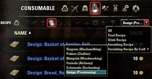 Advanced filters recipe filters favorite eso mods pinterest advanced filters recipe filters forumfinder Choice Image
