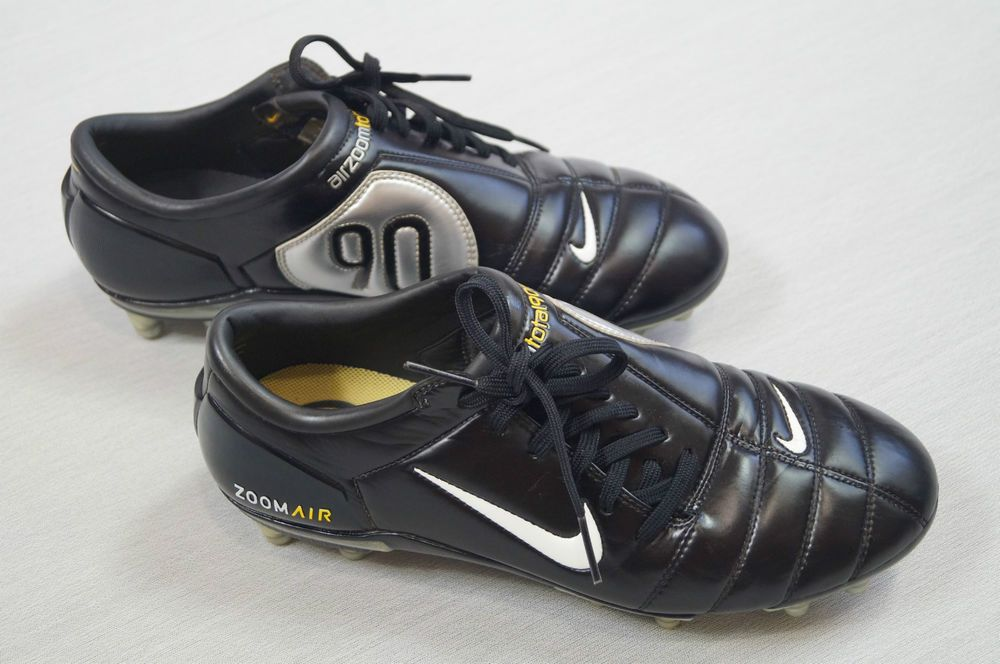 ccd89295439d Men s Nike Zoom Air Total 90 III Black Yellow Trainers Size UK 8 White Logo