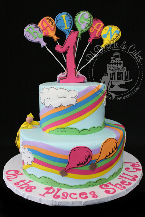 oh the places you will go cake drseuss DrSeuss Oh the Place