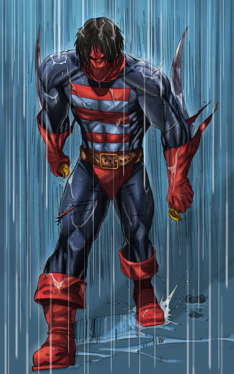 Gambar Kartun Pahlawan Super Hero