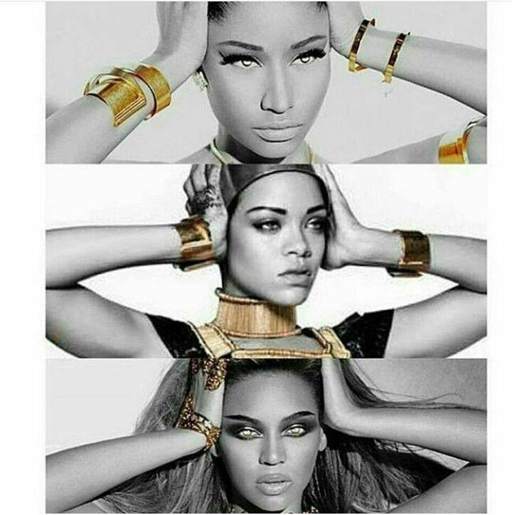 RNB melaninprincess Rihanna nicki minaj, Nicki minaj