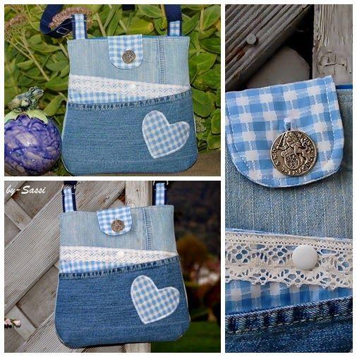 Bolso Zicky Zacky en Tracht / Jeans  – Bolsa