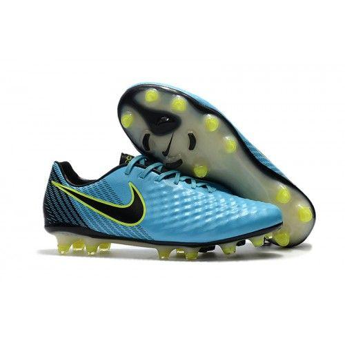 sports shoes d2fb4 8359a Nike Magista Opus II FG Football Boots Black Blue