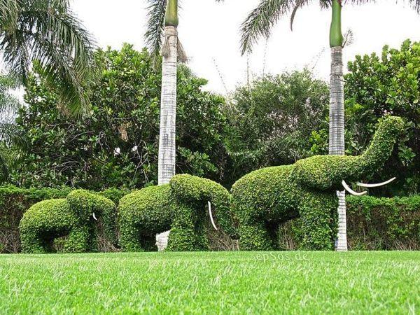 100 Gartengestaltung Bilder Und Inspiriеrende Ideen Für Ihren Garten    Garten Gestalten Elefant Dekoideen Rasen | Elephants | Pinterest | Topiary,  ...