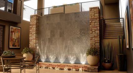wall ideas living room google search - Interior Stone Wall Designs