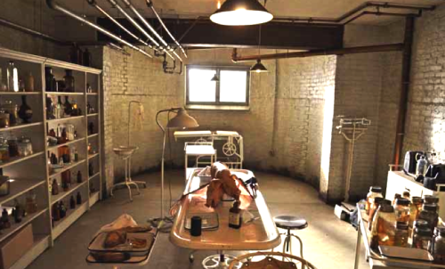 American Horror Story  The Basement (Dr. Charles Montgomeryu0027s Exam Room)