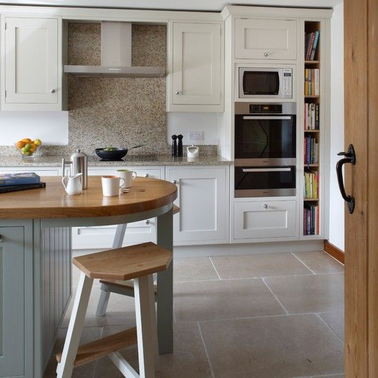 Darby Butchers Block Marble Top  Best Shaker Style Kitchens Fair Latest Kitchen Designs Uk Inspiration