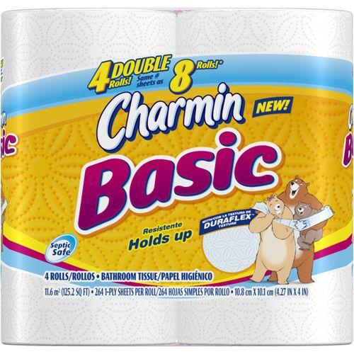 Free Roll Of Charmin Basic Bath Tissue Charmin Basic Bath Tissue