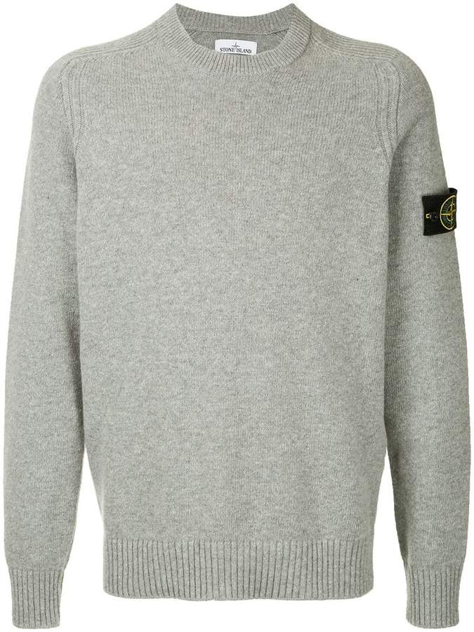 Stone Island Crew Neck Knitted Sweater Products Stone Island