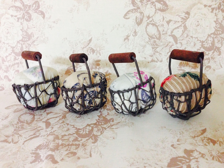 Basket pincushion