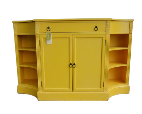DIY Painted Furniture | Yellow furniture, Yellow painted ...