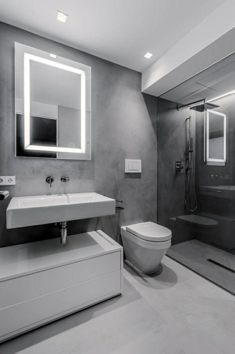 Bad Modernes Design Spiegelbeleuchtung