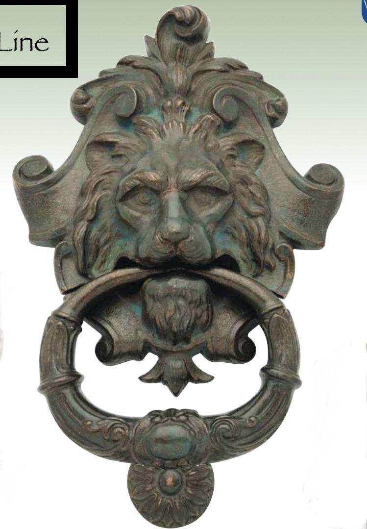 Door knocker lion doorsone closes another opens pinterest