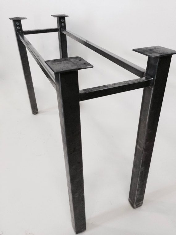 Metal Table Legs Modular Table Base Steel By Invictussteelworks