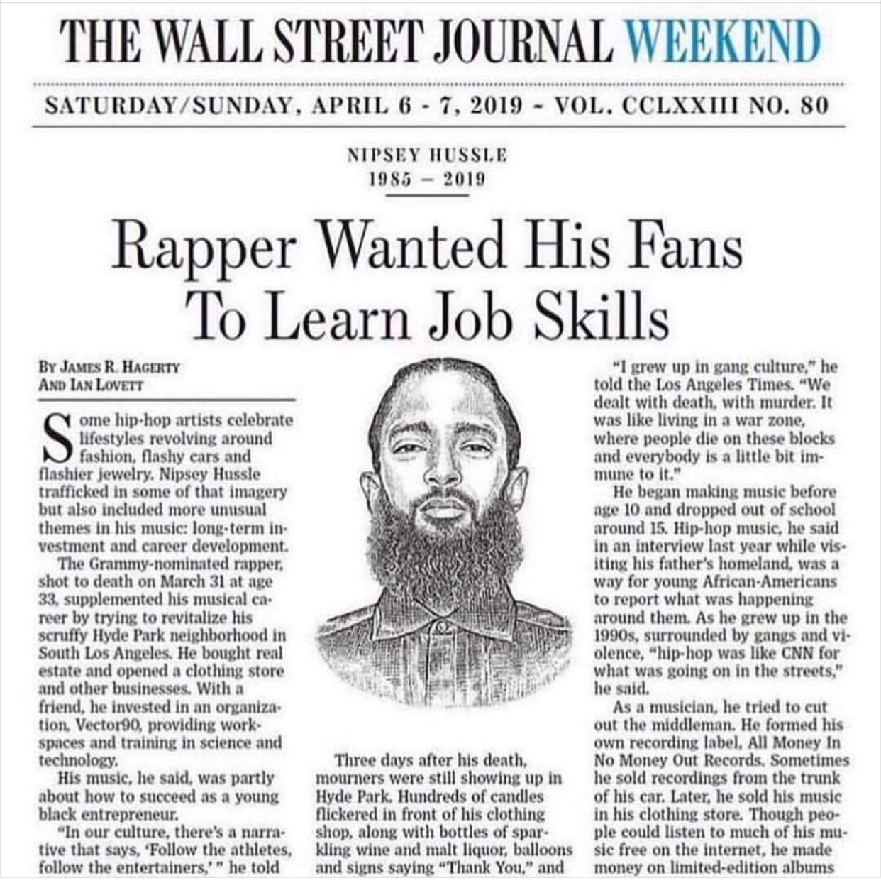pin by all things pretty online on nipsey hussle gang on wall street journal online id=97311