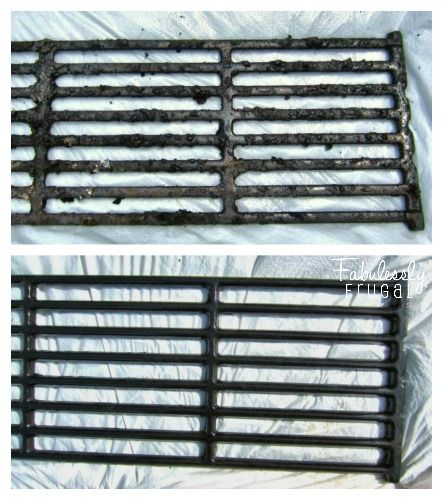 How To Clean Stove Top Grates With Ammonia Collage