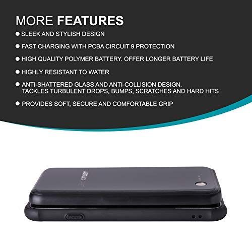 innovative design 5bca9 42913 Amazon.com: ASTRACASE Magnetic Wireless Battery Case for iPhone X ...