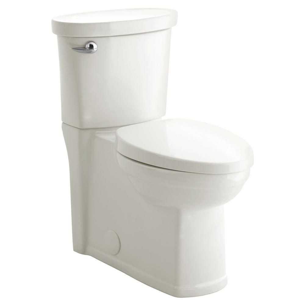 American Standard Cadet 3 Decor Tall Height 2 Piece 1 28 Gpf Single Flush Elongated Toilet With Seat In White Seat Included 715aa 001 020 Affordable Bathroom Remodel Diy Bathroom Modern Toilet