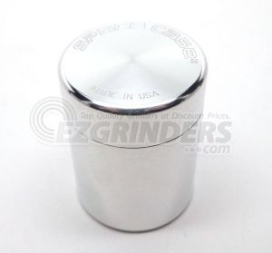 The Space Case aluminum storage container is airtight and made in