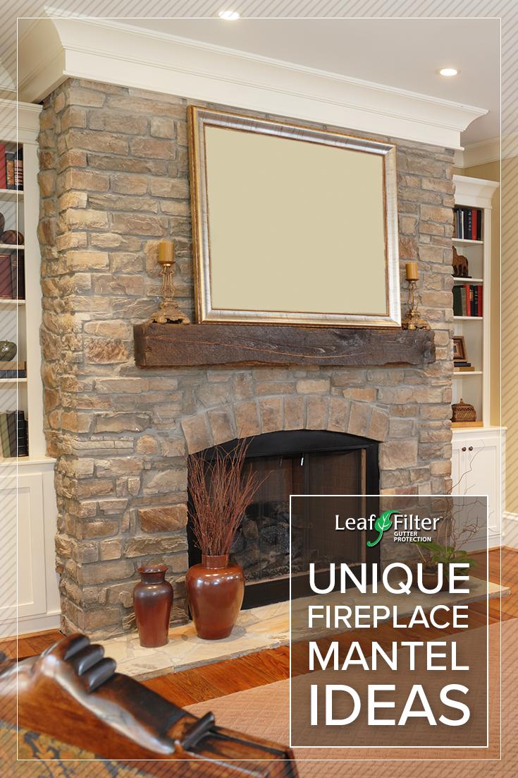 Unique Fireplace Mantel Ideas   Fireplace mantels ...