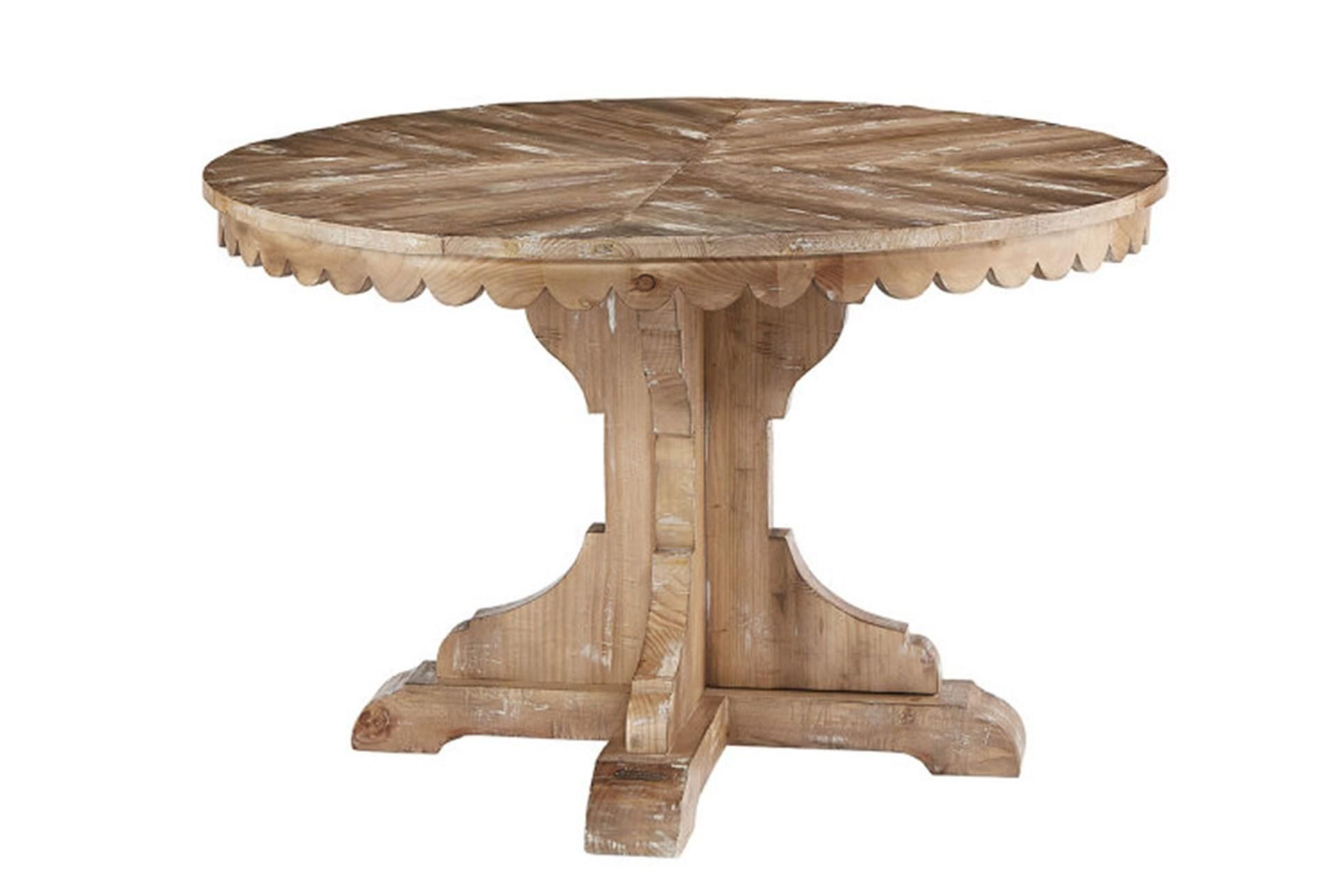 Magnolia Home Top Tier Round Dining Table By Joanna Gaines Brown