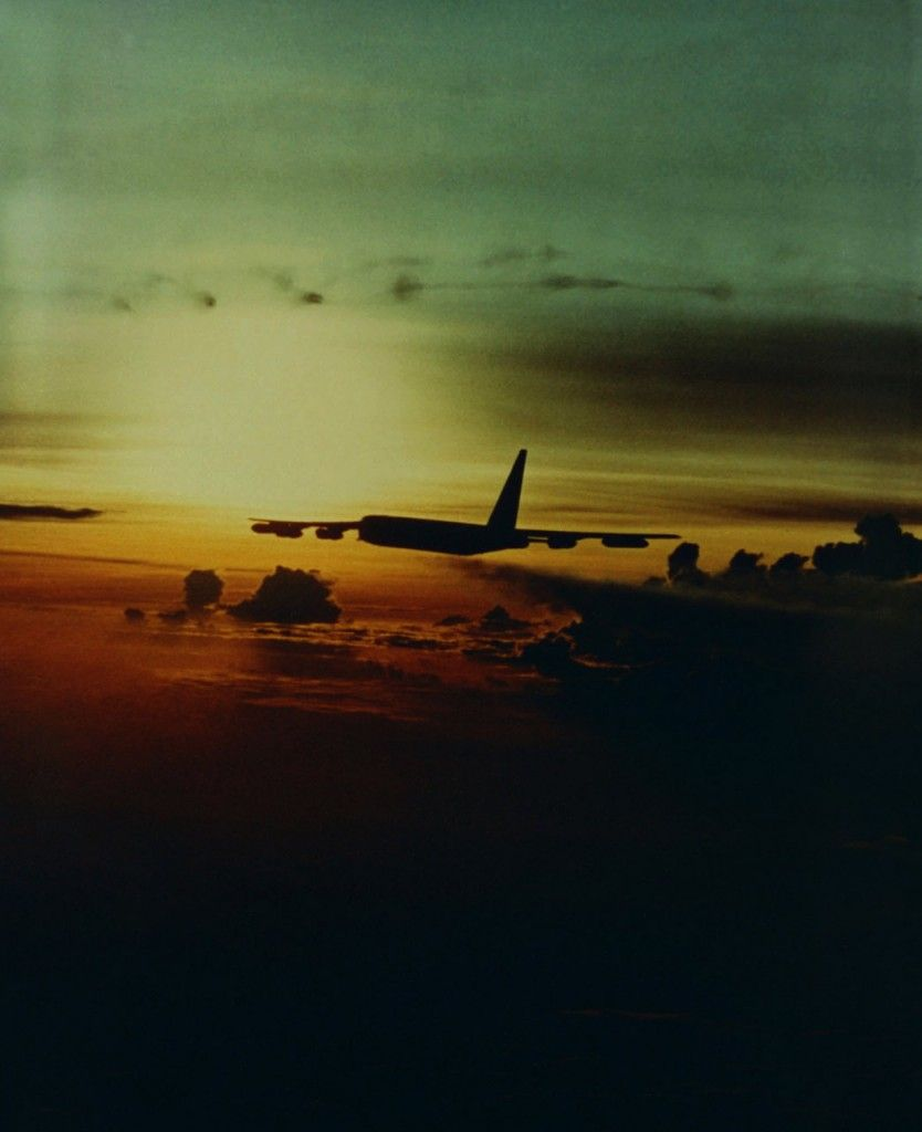 Boeing B 52 Stratofortress Of The U S Air Force History: A Boeing B-52D Stratofortress Of The 307th Strategic Wing