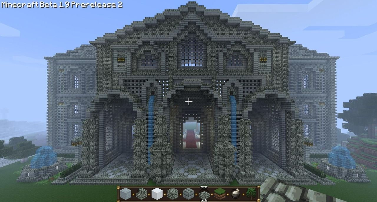 How To Build A Good Court In Minecraft