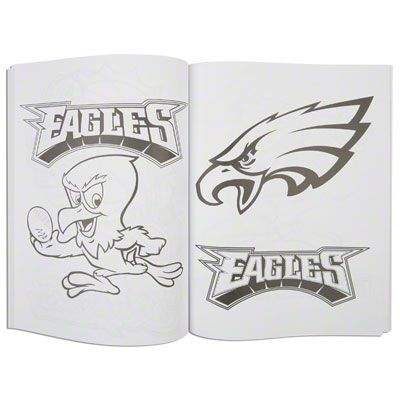 Summer road-trip ready! #Eagles NFL Buddies Coloring Book $6.99 ...