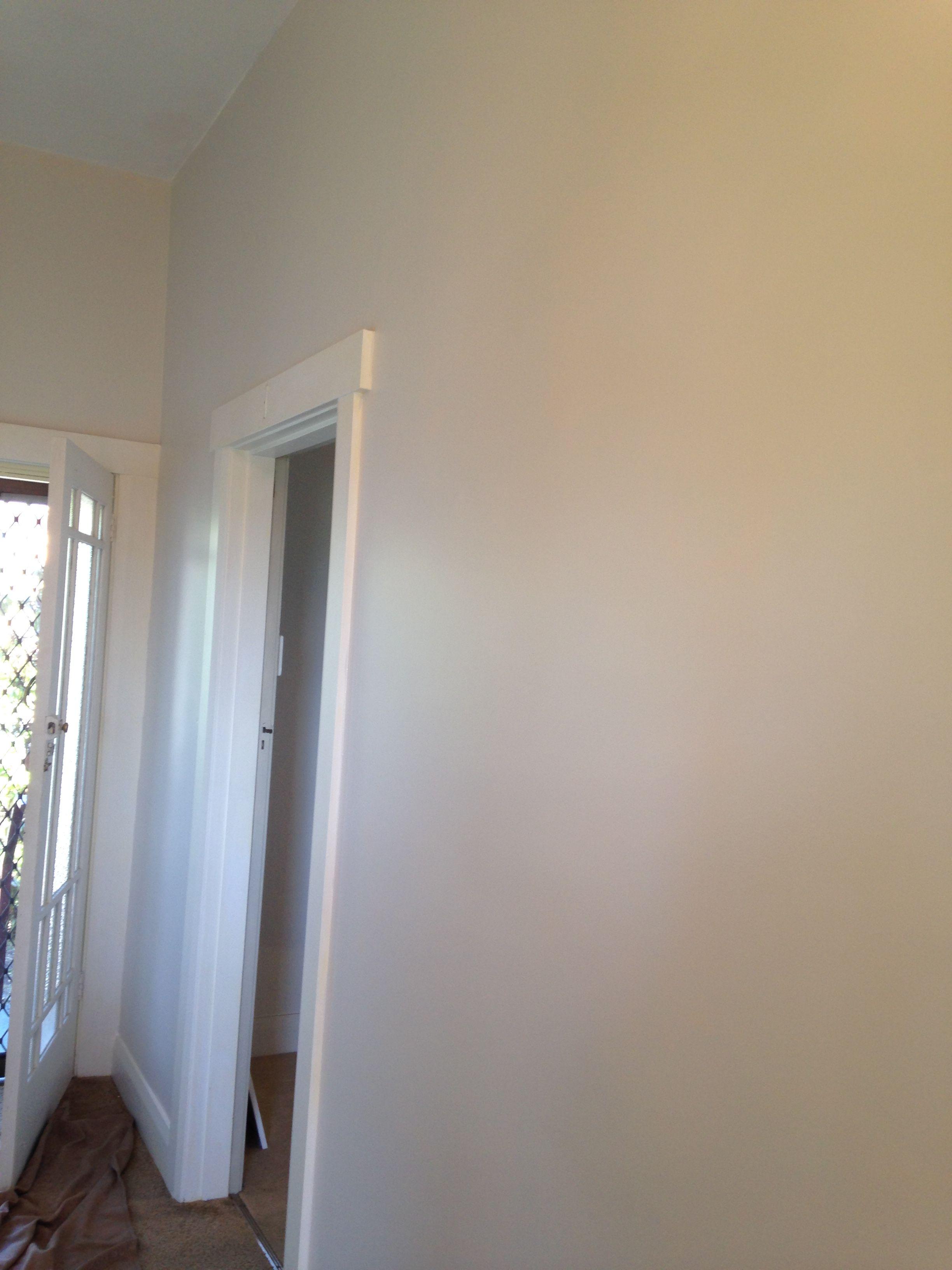Dulux White Exchange Half Interior Design Living Room