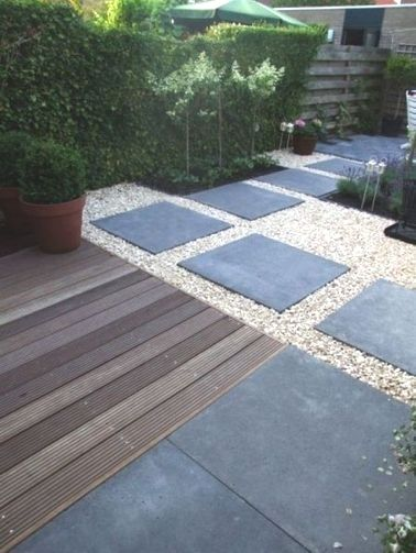 All e de jardin pour un am nagement ext rieur original et for Idee terrasse originale