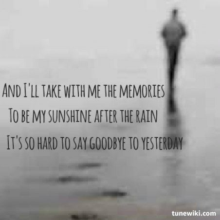 Boyz Ii Men Its So Hard To Say Goodbye To Yesterday More Than