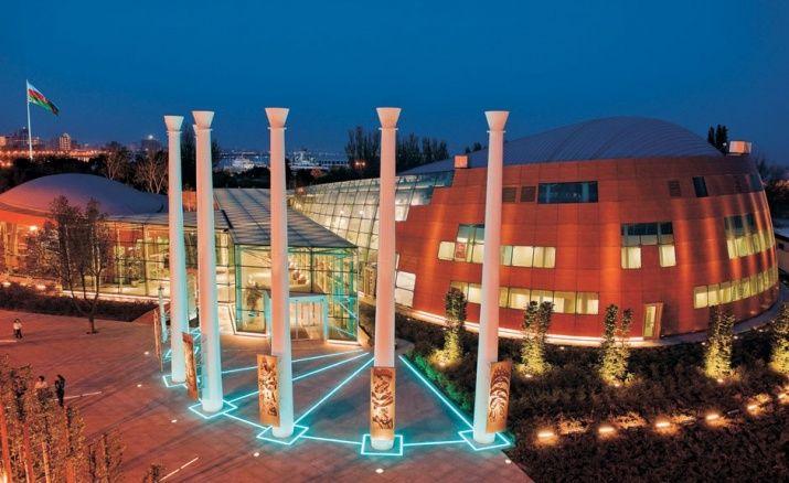 Xeyalazerbeyli Azerbaijan Concert Hall Historical Monuments Tour Guide
