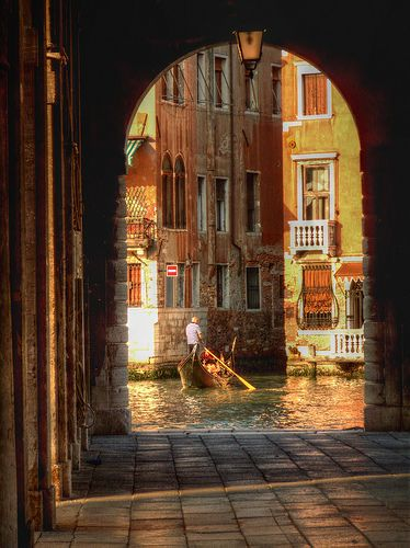Archway View, Venice, Italy