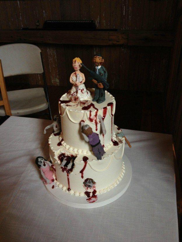 19 Spectacularly Nerdy Wedding Cakes Celebrations Parties