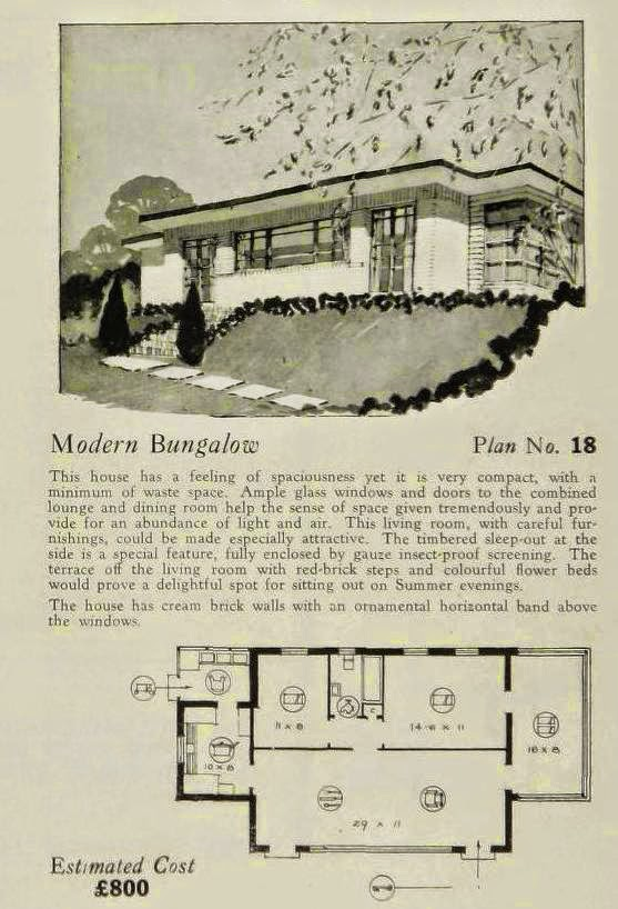 More Art Deco And Art Moderne House Plans Art Deco Resource