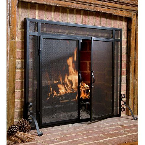 Plow Amp Hearth Fire Screens Fireplace Doors Fireplace