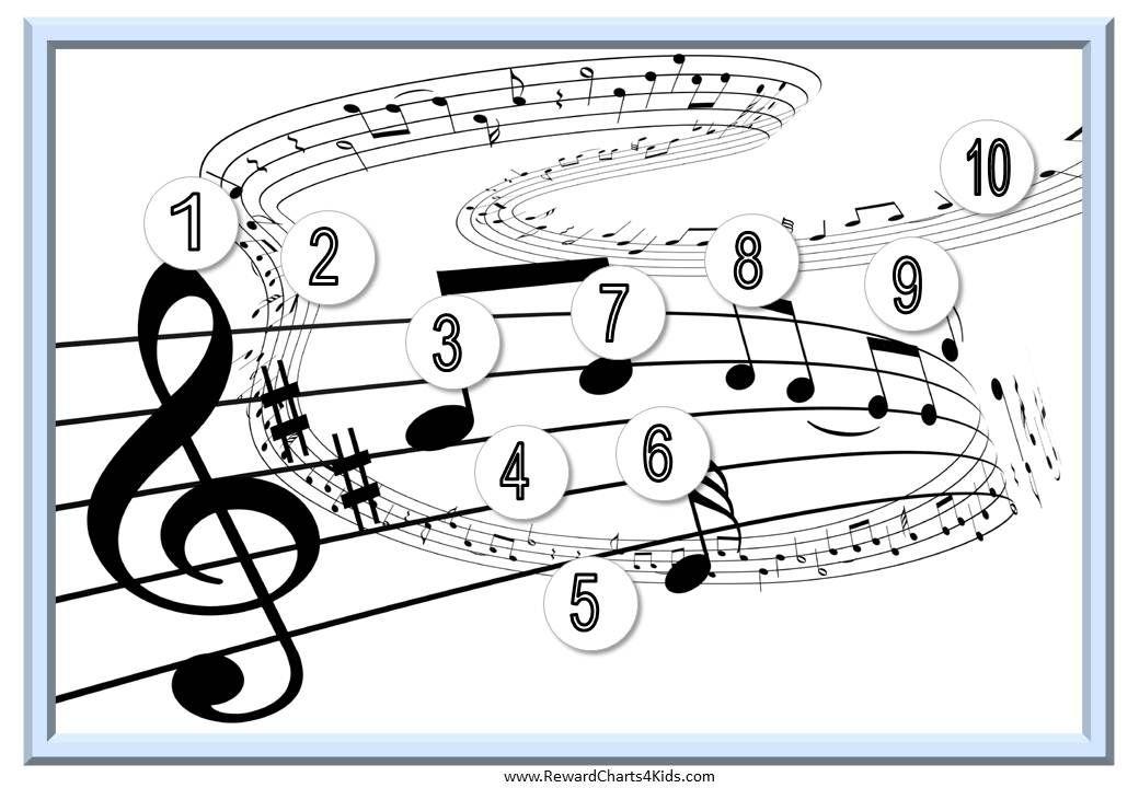 Music class reward chart Music Education Pinterest Piano - music chart