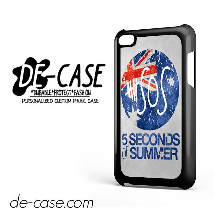 5 Seconds Of Summer 5SOS 5 SOS Flag For Ipod 4 Ipod Touch 4 Case Phone Case Gift Present YO