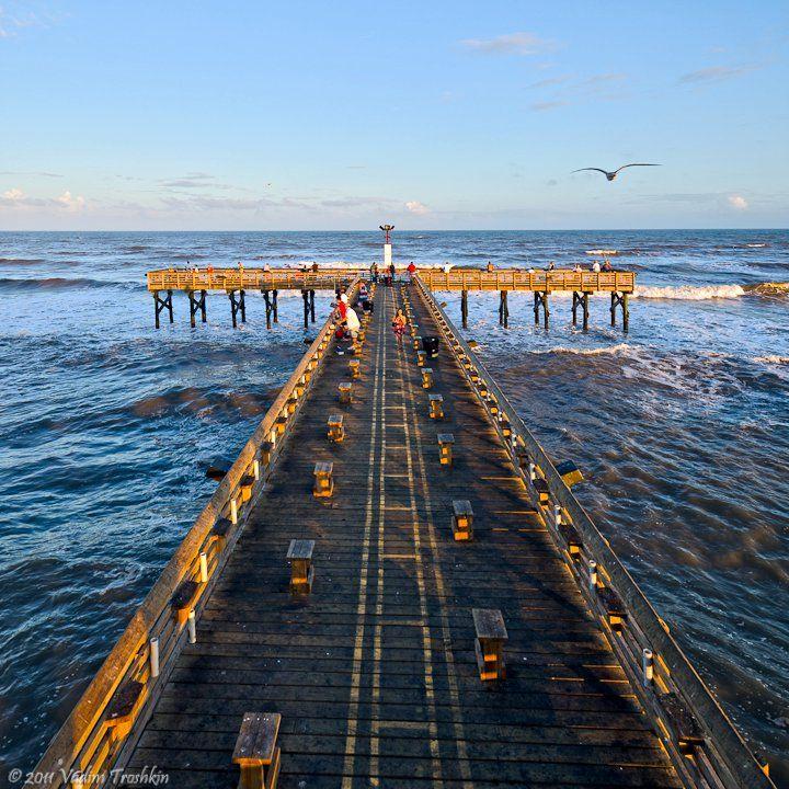 Galveston Com Galveston Fishing Pier Pier Fishing Galveston