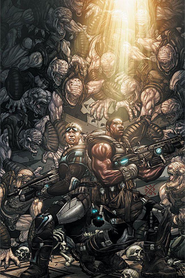 Gears Of War Comics Gears Of War War Artwork Gears Of War 3