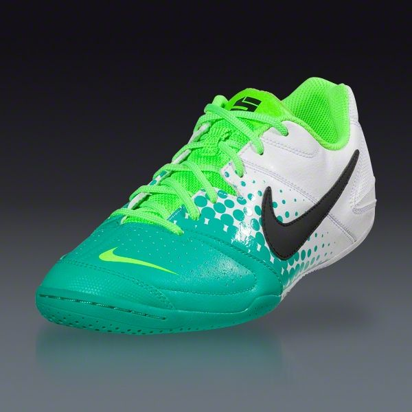 3a7983e6a66 Nike5 Elastico - White Atomic Teal Electric Green Black Indoor Soccer Shoes