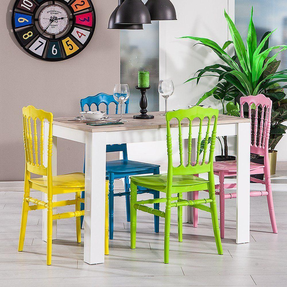 Color 4 Kisilik Mutfak Balkon Yemek Masasi 2020 Mobilya Dolaplar Ofis Sandalyesi