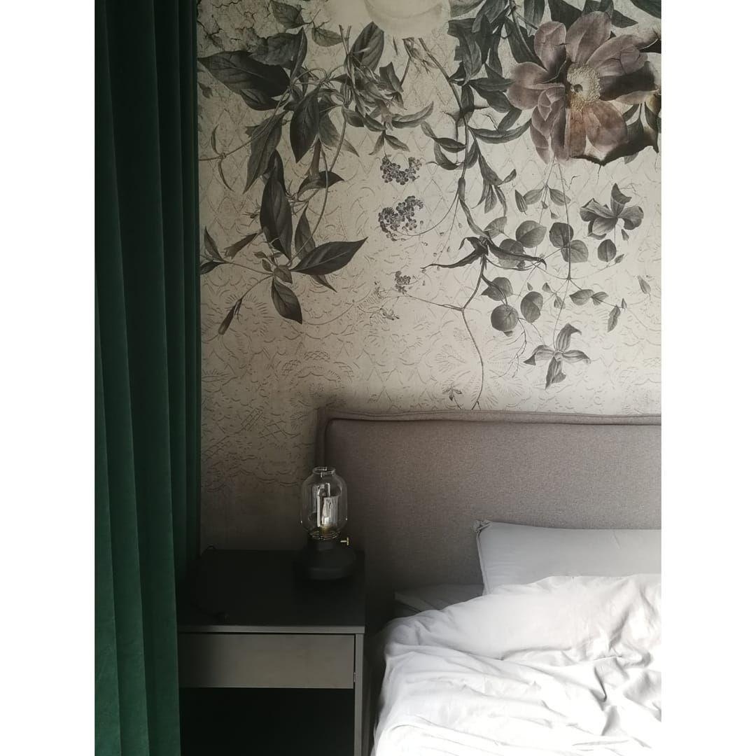 Sypialniany kadr  #home #domoweinspiracje #bedroom #bed #bedroomdesign #bedroominspiration #interiordesign #design...