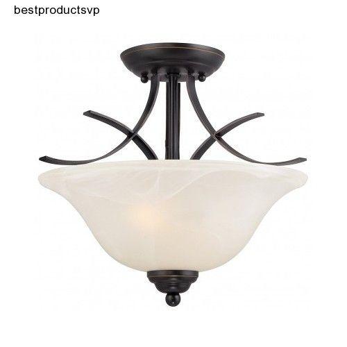 Semi flush mount ceiling light bronze fixture modern pendant white semi flush mount ceiling light bronze fixture modern pendant white chandelier 2 aloadofball Image collections