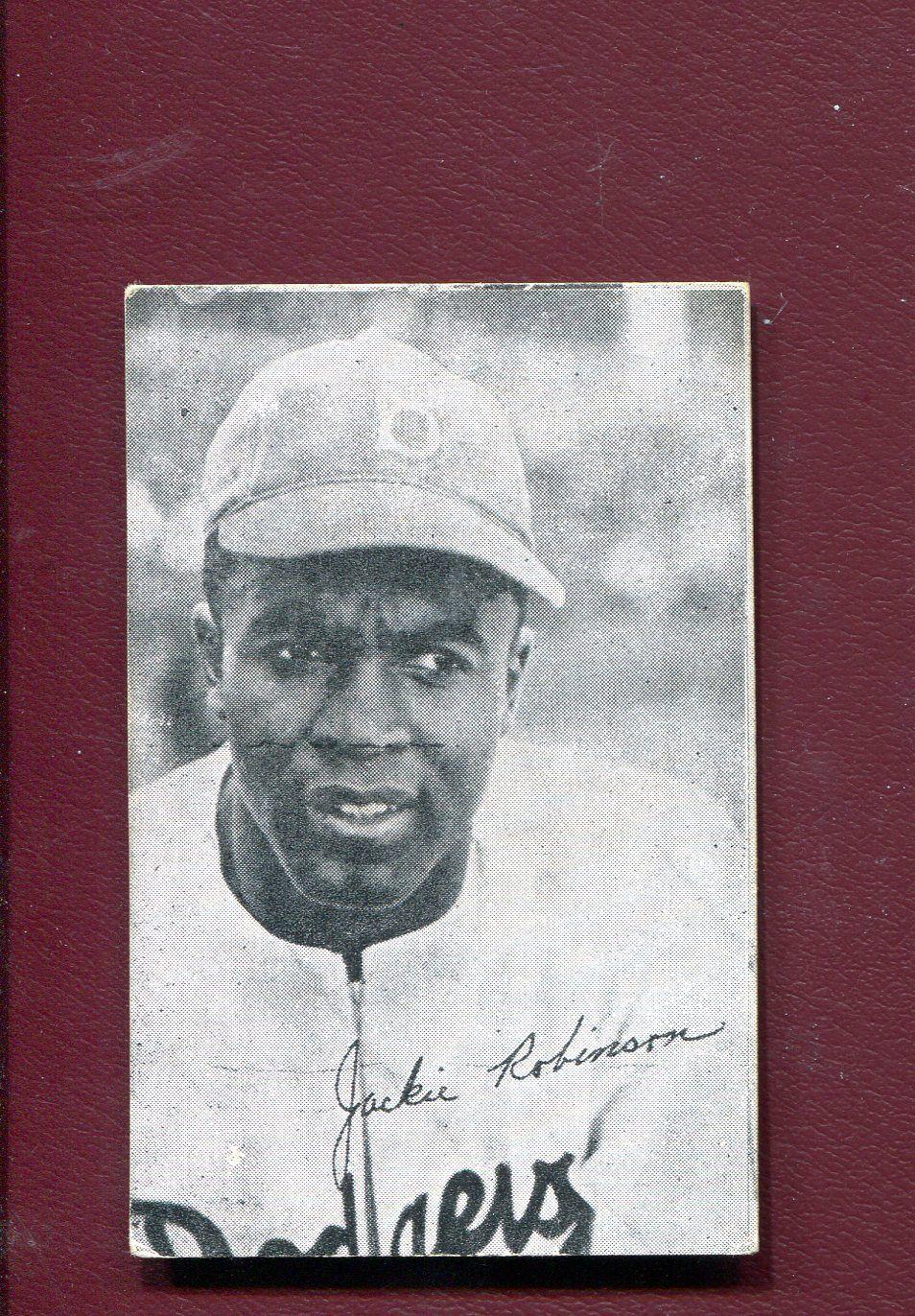 1947 W571 HOMOGENIZED BREAD JACKIE ROBINSON BASEBALL CARD..ORIGINAL!!!